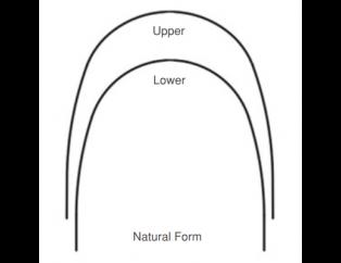 Smart NI-TI Super Elastic Arch Wire