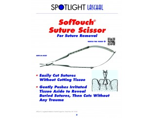 SofTouch Suture Scissors (MPF-N-4CXF)